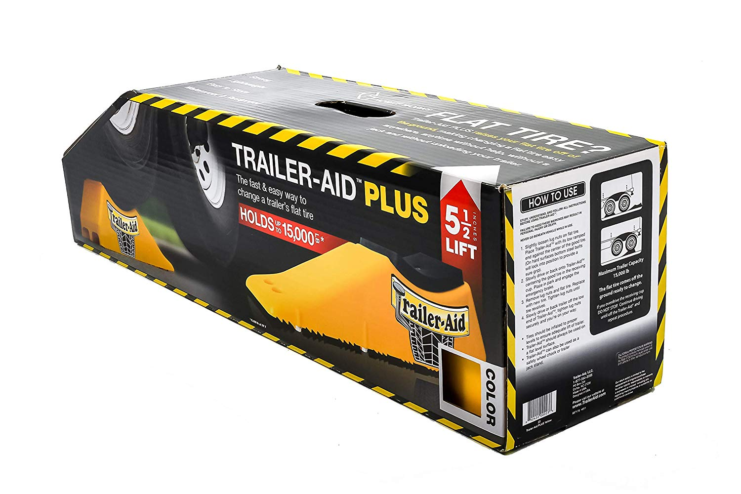 Trailer-Aid Tandem Tire Changing Ramp Image